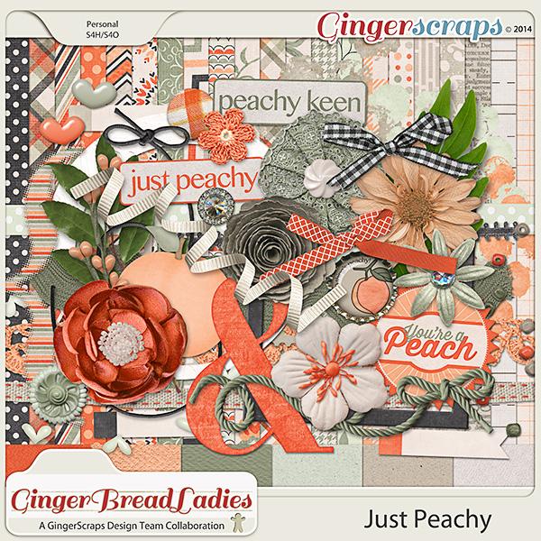 GingerBread Ladies Collab: Just Peachy