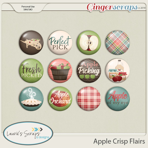 Apple Crisp Flairs