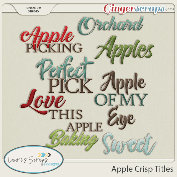 Apple Crisp Titles
