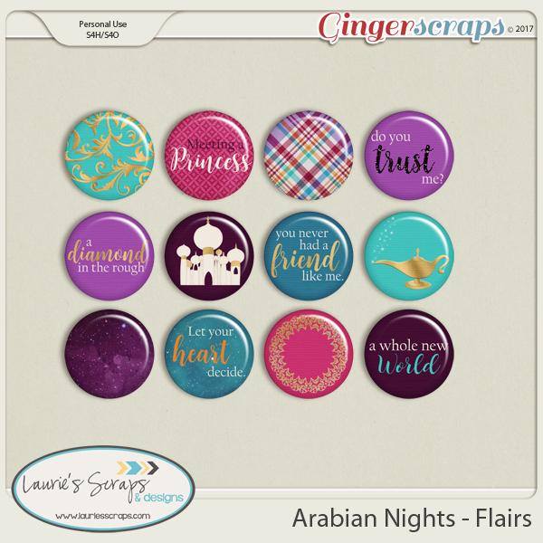 Arabian Nights Flairs