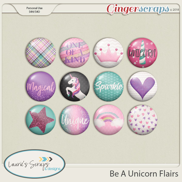Be A Unicorn Flairs