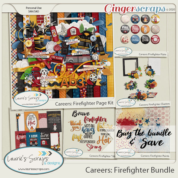 Careers: Firefighter Bundle