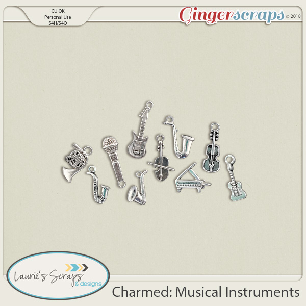 Charmed: Musical Instruments