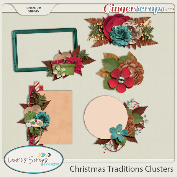 Christmas Traditions Clusters
