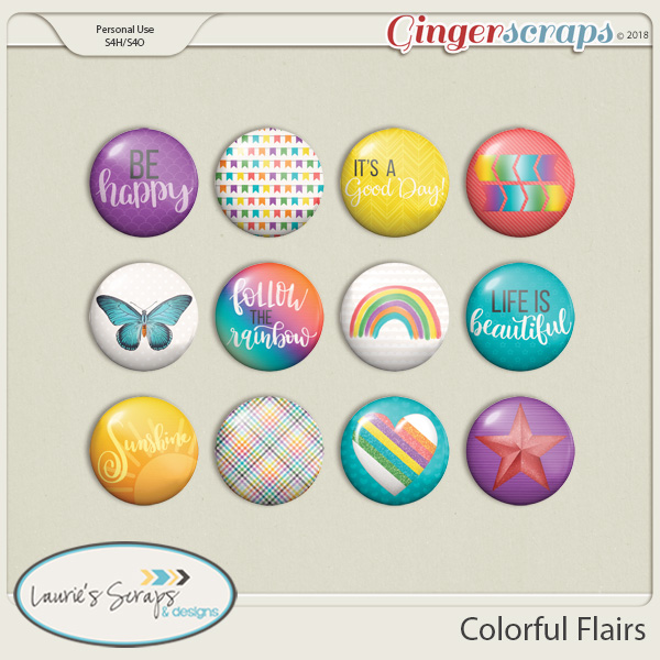 Colorful Flairs