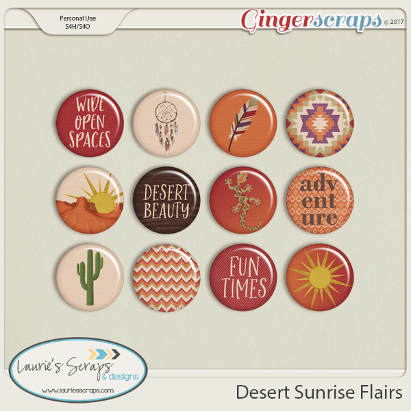 Desert Sunrise Flairs
