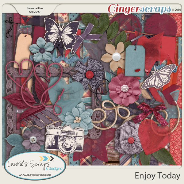 Enjoy Today - Page Kit