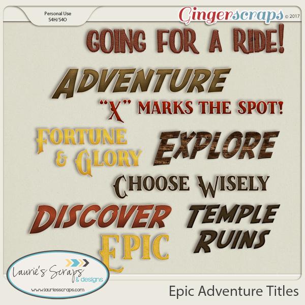 Epic Adventure Titles