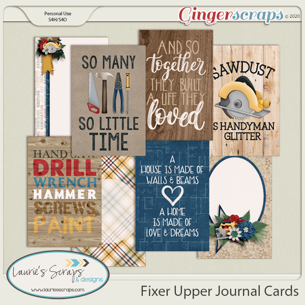 Fixer Upper Journal Cards