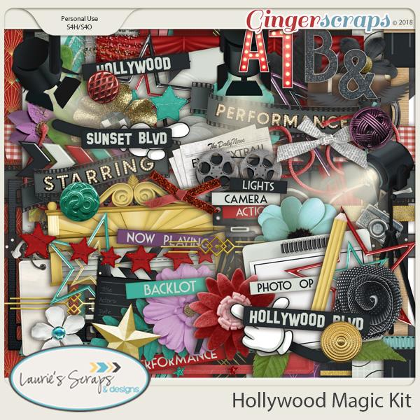 Hollywood Magic Page Kit