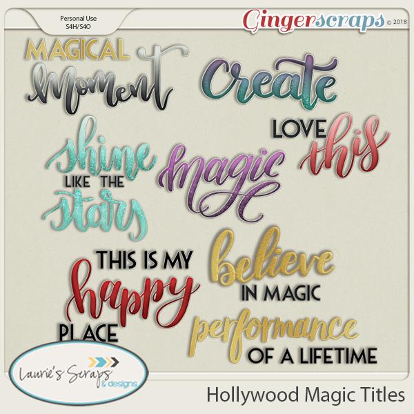 Hollywood Magic Titles