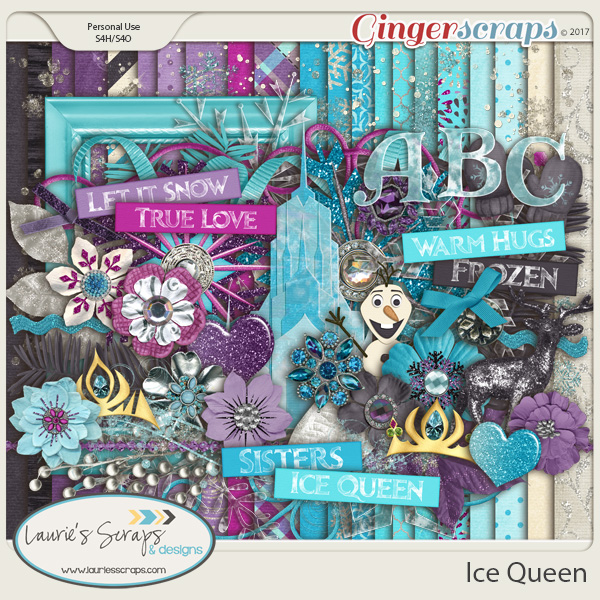 Ice Queen Page Kit