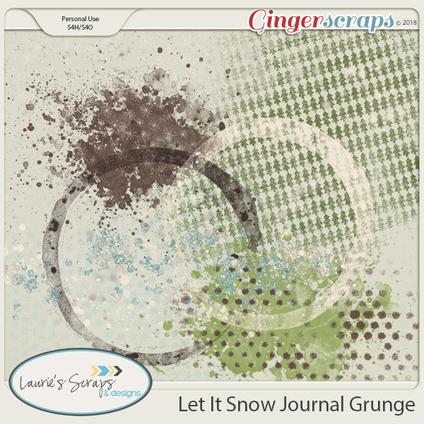Let It Snow Grunge