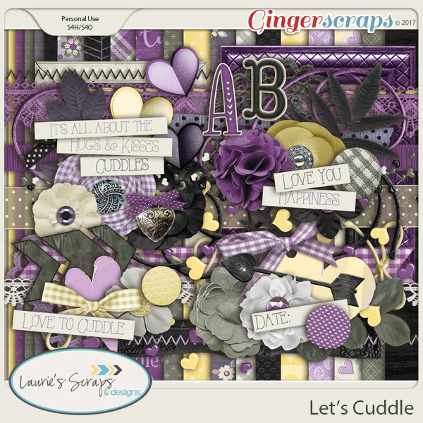 Let's Cuddle Page Kit