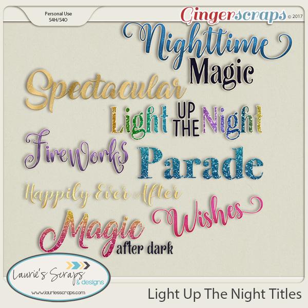 Light Up The Night Titles
