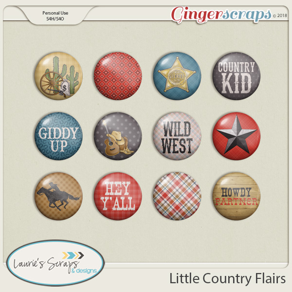 Little Country Flairs