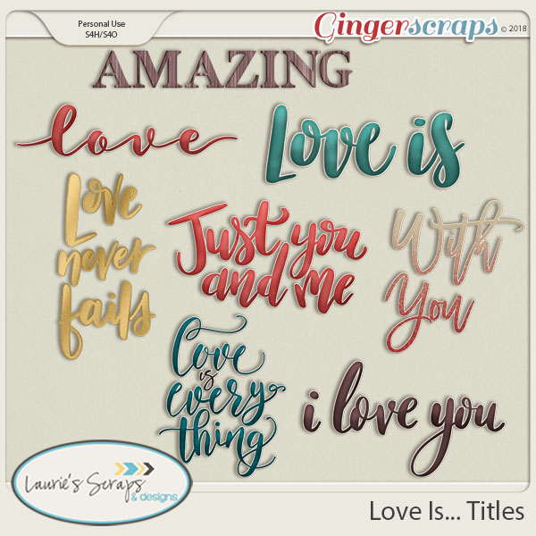 Love Is... Titles
