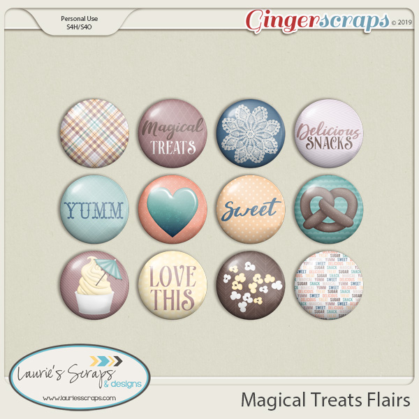 Magical Treats Flairs