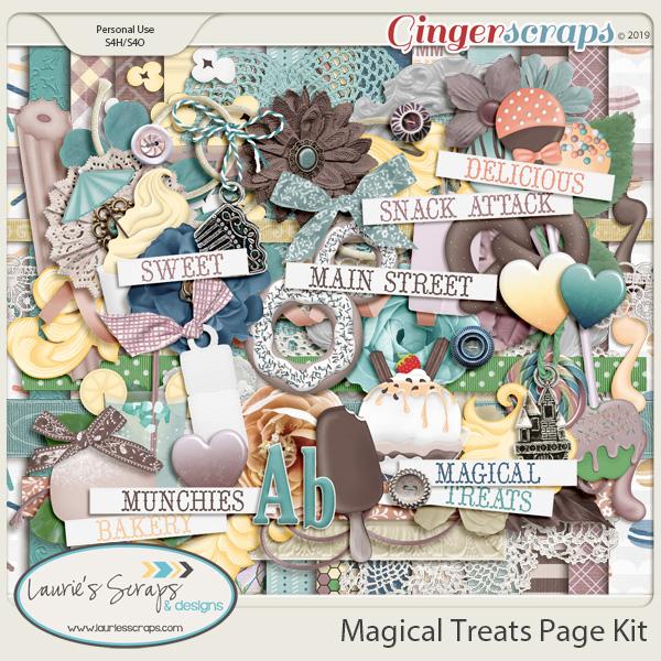 Magical Treats Page Kit