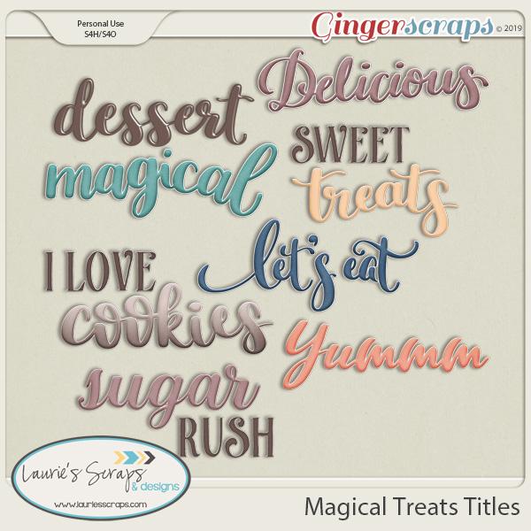 Magical Treats Titles