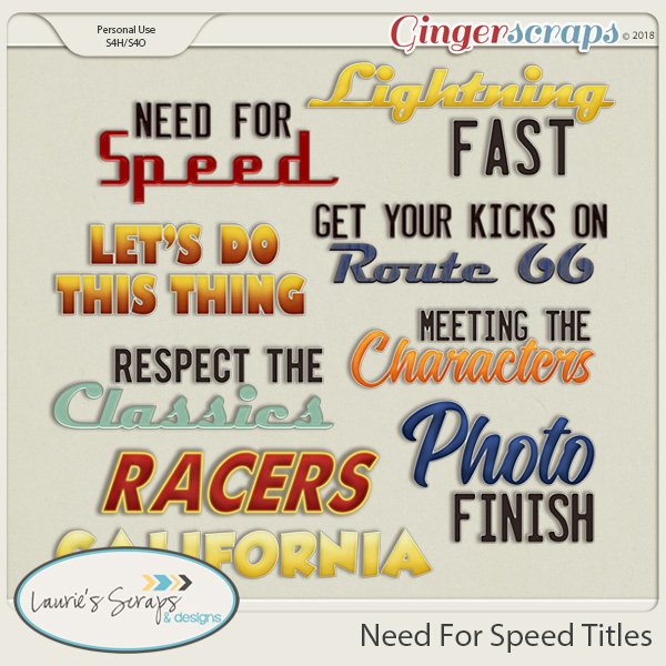 Need For Speed Titles