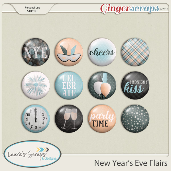 New Year's Eve Flairs