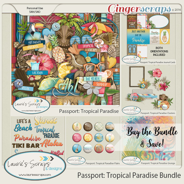 Passport: Tropical Paradise Bundle