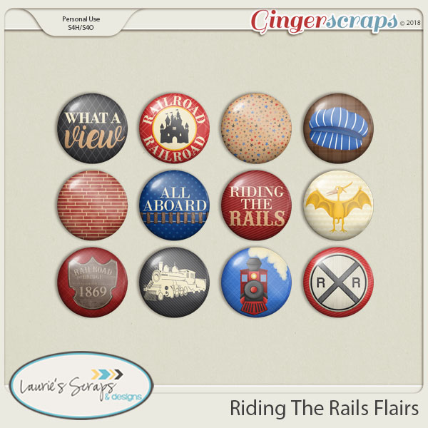 Riding The Rails Flairs