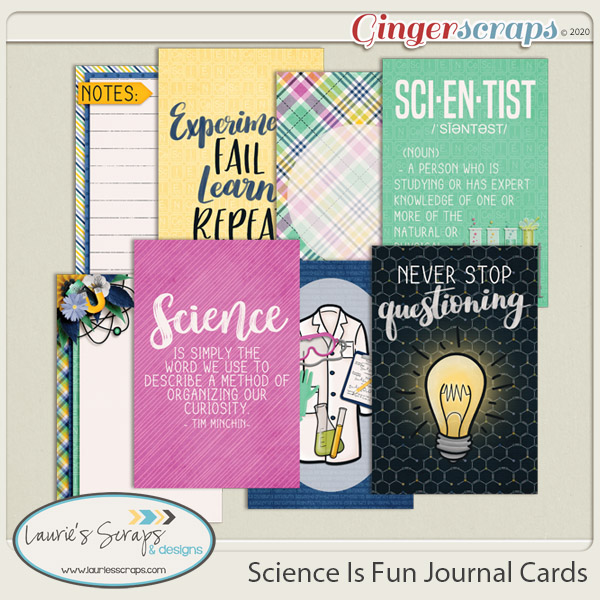 Science Is Fun Journal Cards