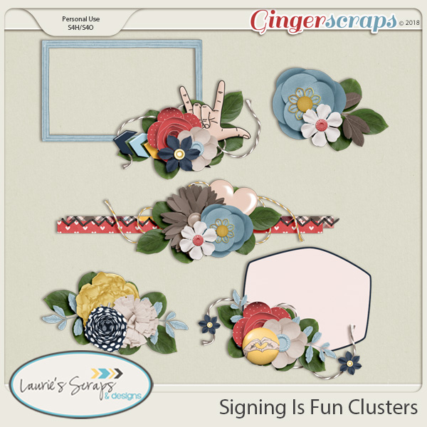 Signing Is Fun Clusters