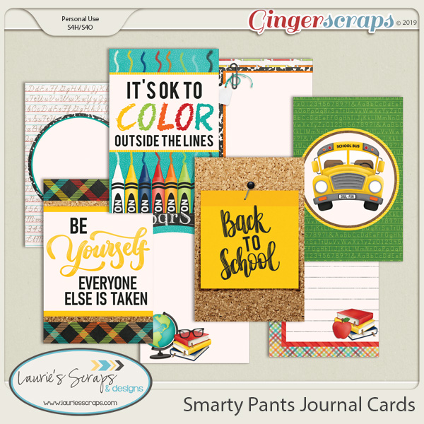 Smarty Pants Journal Cards