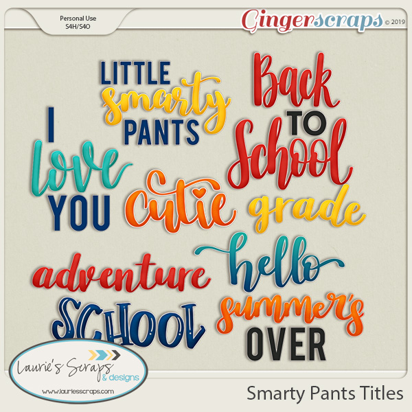 Smarty Pants Titles
