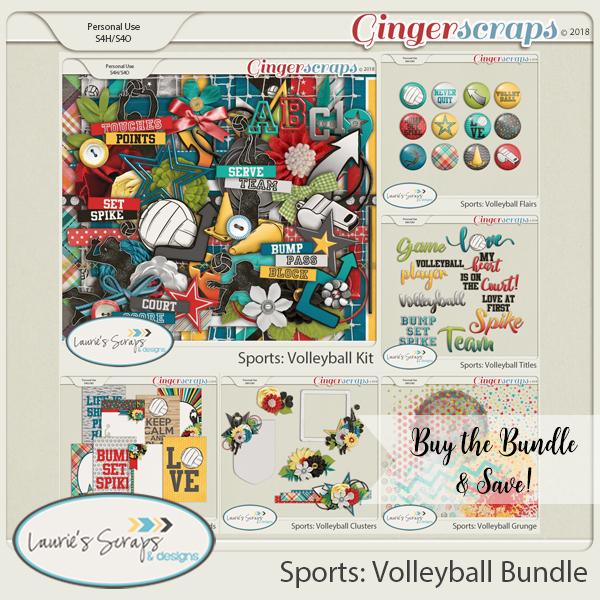Sports: Volleyball Bundle