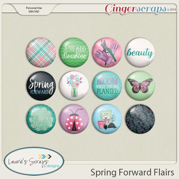 Spring Forward Flairs