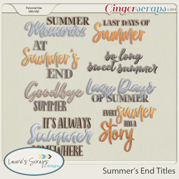 Summer's End Titles