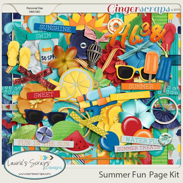 Summer Fun Page Kit