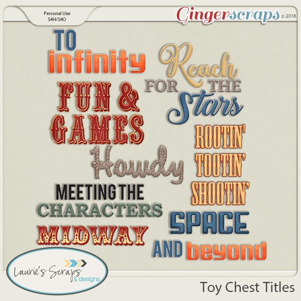 Toy Chest Titles