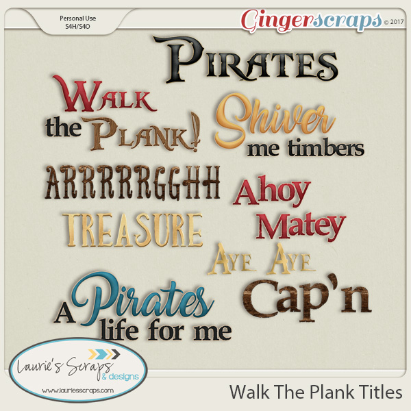 Walk The Plank Titles