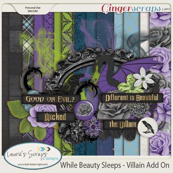While Beauty Sleeps Villain Mini