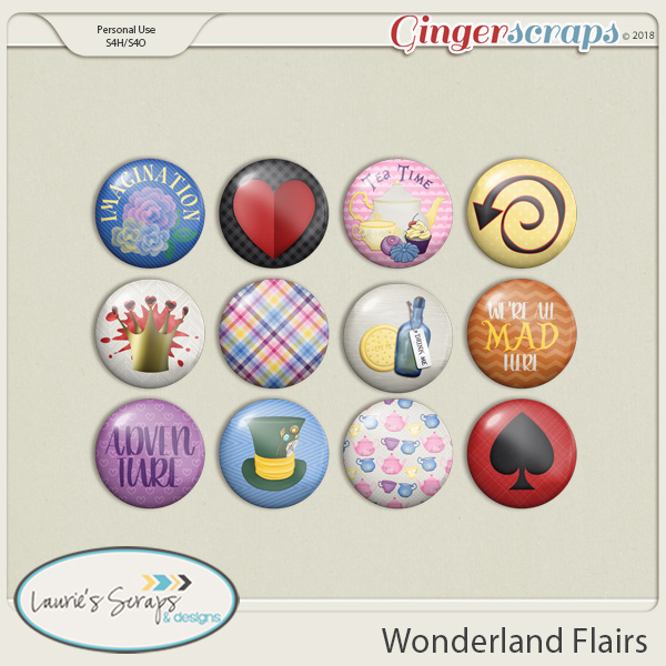 Wonderland Flairs