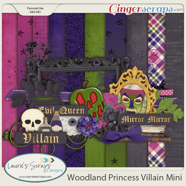 Woodland Princess Villain Mini Kit