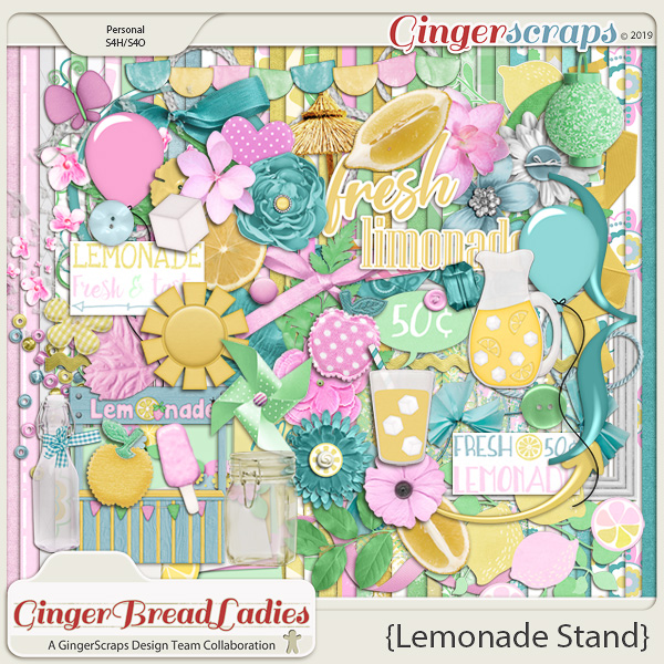 GingerBread Ladies Collab: Lemonade Stand
