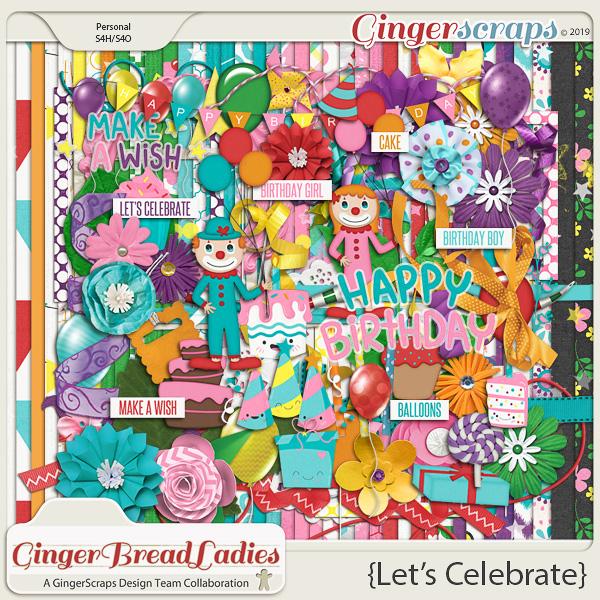 GingerBread Ladies Collab: Let's Celebrate