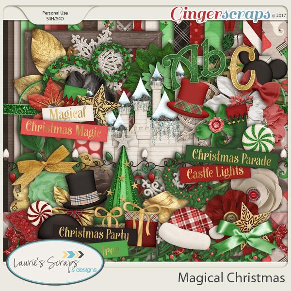 Magical Christmas Page Kit
