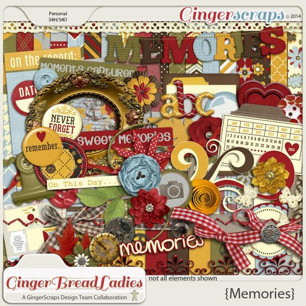Memories {a gingerbread ladies collab}