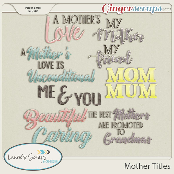 Mother Titles