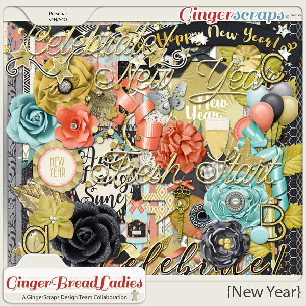 GingerBread Ladies Collab: New Year