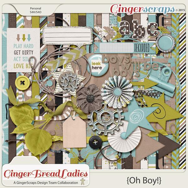 GingerBread Ladies Collab: Oh Boy!