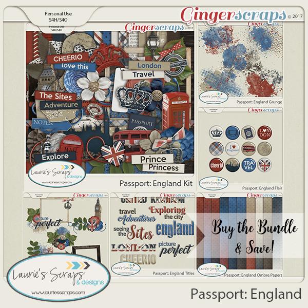 Passport: England Bundle