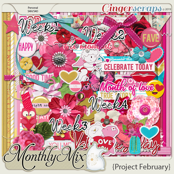GingerBread Ladies Monthly Mix: Project February